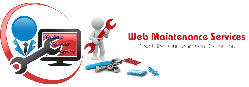 Existing Website Maintenance